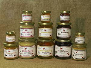 Unsere regionalen Honigsorten
